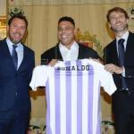 Ronaldo, el día de su presentación (EFE)