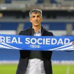 Imanol Alguacil, entrenador de la Real Sociedad. Foto: Youtube.com
