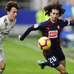 Cucurella, contra el Real Madrid / twitter
