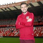 Gabi, en una foto oficial (Atlético de Madrid)