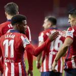 La importancia de Luis Suárez en el Atlético de Madrid. Foto: TyC Sports