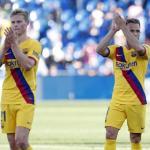 De Jong y Arthur durante un partido. / culemania.com
