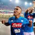 El Nápoles ultima la renovación de Allan / Twitter