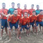 Un internacional de fútbol playa, el 'fichaje' del Real Betis para el regreso de LaLiga. Foto: El Faro de Melilla