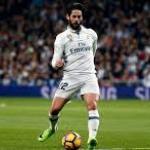 Isco Alarcón en un partido con el Madrid / Real Madrid
