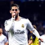Isco Alarcón celebrando un gol con el Real Madrid. Foto: Youtube.com