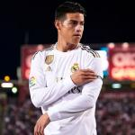 James Rodriguez no levanta cabeza en el Real Madrid / Skysports.com