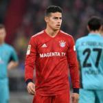 James, con el Bayern / Twitter