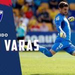 Javi Varas, portero del Huesca / twitter