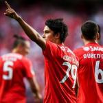 Joao Felix, celebrando un gol / twitter