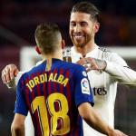 """Jordi Alba y Sergio Ramos, recuperados, apuntan al Clásico """"Foto: RTVE"""""""