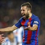 Jordi Alba. Foto: FCBarcelona.es