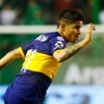 """""""El medio de Boca, Jorman Campuzano, con propuestas de Europa. Foto: Getty Images"""""""
