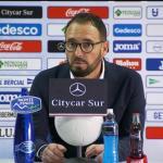 José Bordalás en rueda de prensa. Foto: Youtube.com