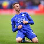 Maddison en un partido con el Leicester. / talksport.com