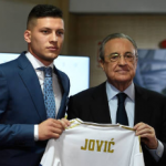 """Florentino sentencia a Jovic. Foto: Getty Images"""