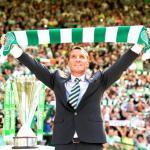 Rodgers, durante una celebración (Celtic FC)
