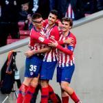 Jugadores del Atlético de Madrid. Foto: Telemadrid.es