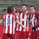Jugadores del Atlético de Madrid. Foto: ElPais.com