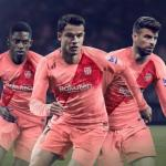 jugadores del FC Barcelona en un cartel promocional. Foto: FCBarcelona.es