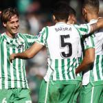 Jugadores del Real Betis celebrando un gol. Foto: Diariodesevilla.es