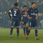 Jugadores del PSG tras la eliminación de Champions. Foto: Elcomercio.pe