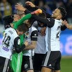 Jugadores del Valencia. Foto: Elespanol.com