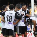 Jugadores del Valencia. Foto: Valenciacf.com
