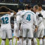 Jugadores del Real Madrid. Foto: La Liga.