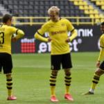 Julian Brandt con libertad ante el Schalke 04   FOTO: DORTMUND