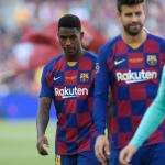 """El mal momento de Júnior Firpo """"Foto: FCB Noticias"""""""