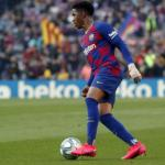Júnior Firpo a un paso de salir del Barcelona   FOTO: FC BARCELONA