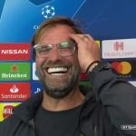 Jürgen Klopp en rueda de prensa. Foto: Youtube.com