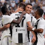 Ronaldo, celebrando un gol / twitter