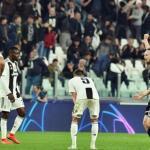 Juventus de Turín, en el partido de ayer / twitter