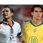 Kaká y Lampard/lestransfertsfoot.com