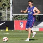 El Mónaco pretende su fichaje. Foto: Atlético de Madrid.
