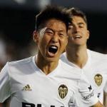Kangin Lee entra en la historia del Valencia / DPV