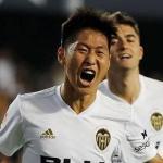 Kangin Lee quiere seguir siendo jugador del Valencia / Youtube.com