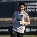 El Valencia anima a Kangin a marcharse cedido al Mallorca