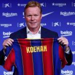 Koeman insiste en los fichajes invernales para reforzar al Barcelona