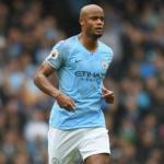 Kompany, durante un partido (Manchester City)