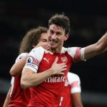 Laurent Koscielny celebra un gol con el Arsenal FC / Premier League