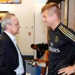Kroos se rebela ante Florentino. Foto: AS