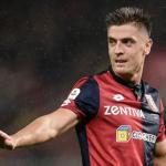 Piatek en un partido con el Genoa / Goal