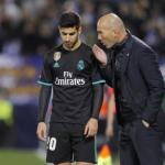 La confianza ciega de Zinedine Zidane en Marco Asensio / Twitter