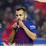 La lesión de Jordi Alba se queda en un susto / FcBarcelona.es