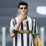 OFICIAL: La Juventus extiende la cesión de Morata por una temporada