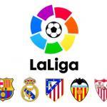Logotipo de LaLiga y escudor de los grandes / LaLiga