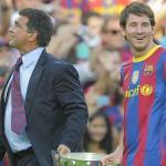 Una leyenda del Barça 'ficha' por Laporta y ve a Messi fuera. Foto: calciomercato.com